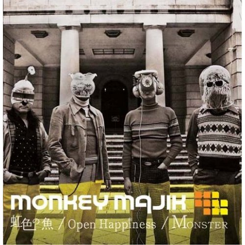 Monkey Majik – Nijiiro no Sakana  Open Hapiness  Monster